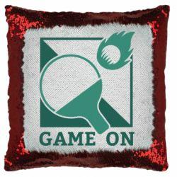 Подушка-хамелеон Настольный Теннис игра