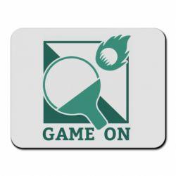 Коврик для мыши Настольный Теннис игра