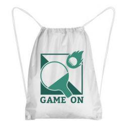 Рюкзак-мешок Настольный Теннис игра