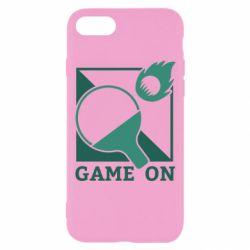 Чехол для iPhone 7 Настольный Теннис игра
