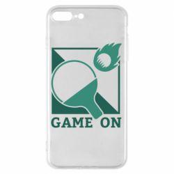 Чехол для iPhone 7 Plus Настольный Теннис игра