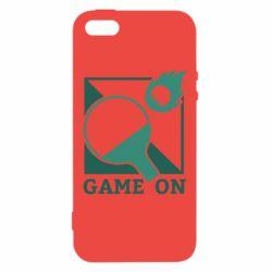 Чехол для iPhone5/5S/SE Настольный Теннис игра
