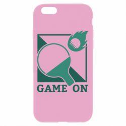 Чехол для iPhone 6/6S Настольный Теннис игра