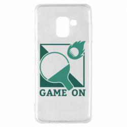 Чехол для Samsung A8 2018 Настольный Теннис игра