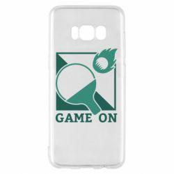 Чехол для Samsung S8 Настольный Теннис игра