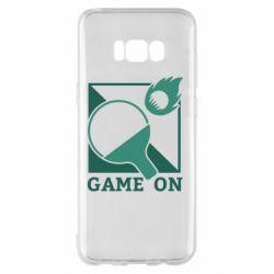 Чехол для Samsung S8+ Настольный Теннис игра