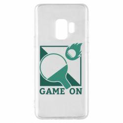 Чехол для Samsung S9 Настольный Теннис игра