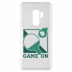 Чехол для Samsung S9+ Настольный Теннис игра