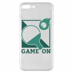 Чехол для iPhone 8 Plus Настольный Теннис игра