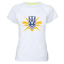Жіноча спортивна футболка National building