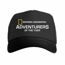 Кепка-тракер National Geographic Adventurers of the year