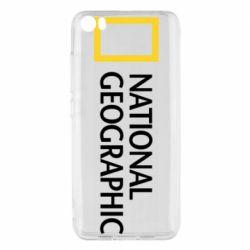 Чехол для Xiaomi Mi5/Mi5 Pro National Geographic logo