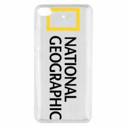 Чехол для Xiaomi Mi 5s National Geographic logo