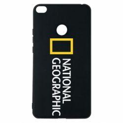 Чехол для Xiaomi Mi Max 2 National Geographic logo