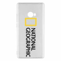 Чехол для Xiaomi Mi Note 2 National Geographic logo
