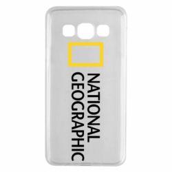 Чехол для Samsung A3 2015 National Geographic logo