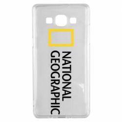 Чехол для Samsung A5 2015 National Geographic logo