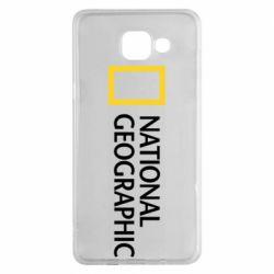 Чехол для Samsung A5 2016 National Geographic logo