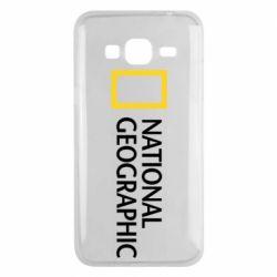 Чехол для Samsung J3 2016 National Geographic logo