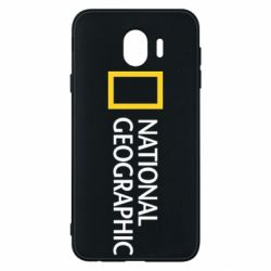 Чехол для Samsung J4 National Geographic logo