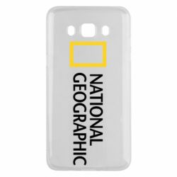 Чехол для Samsung J5 2016 National Geographic logo