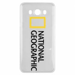 Чехол для Samsung J7 2016 National Geographic logo