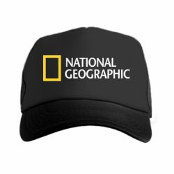 Кепка-тракер National Geographic logo