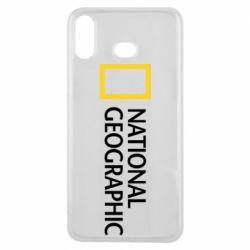 Чохол для Samsung A6s National Geographic logo