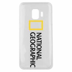 Чехол для Samsung J2 Core National Geographic logo