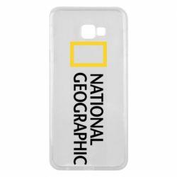 Чехол для Samsung J4 Plus 2018 National Geographic logo