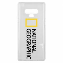 Чехол для Samsung Note 9 National Geographic logo