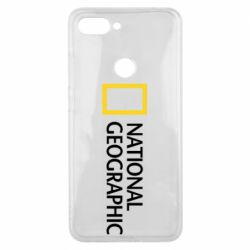 Чехол для Xiaomi Mi8 Lite National Geographic logo