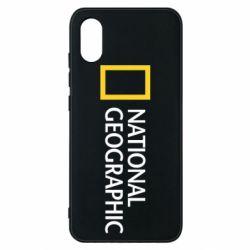 Чехол для Xiaomi Mi8 Pro National Geographic logo