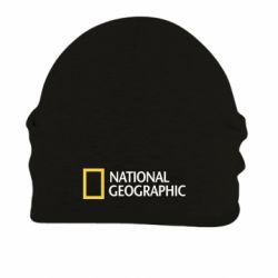 Шапка на флисе National Geographic logo