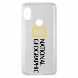 Чехол для Xiaomi Redmi Note 6 Pro National Geographic logo