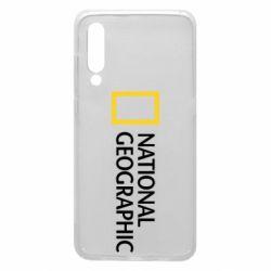 Чехол для Xiaomi Mi9 National Geographic logo