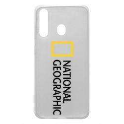 Чехол для Samsung A60 National Geographic logo