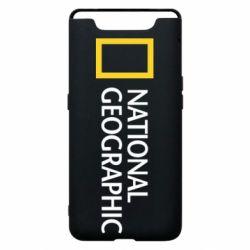 Чехол для Samsung A80 National Geographic logo