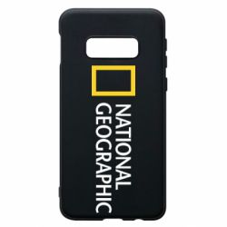 Чехол для Samsung S10e National Geographic logo