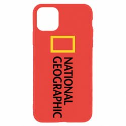 Чехол для iPhone 11 National Geographic logo