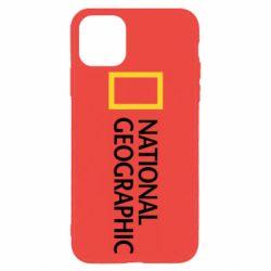 Чехол для iPhone 11 Pro Max National Geographic logo