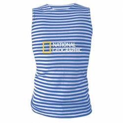 Майка-тільняшка National Geographic logo