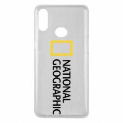 Чехол для Samsung A10s National Geographic logo