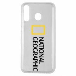 Чехол для Samsung M30 National Geographic logo