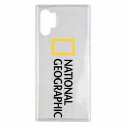 Чохол для Samsung Note 10 Plus National Geographic logo