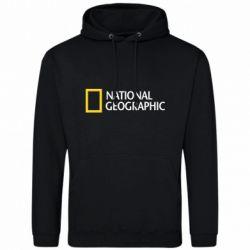 Мужская толстовка National Geographic logo