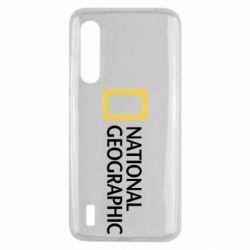 Чехол для Xiaomi Mi9 Lite National Geographic logo