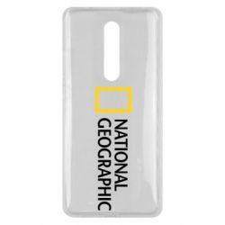Чехол для Xiaomi Mi9T National Geographic logo