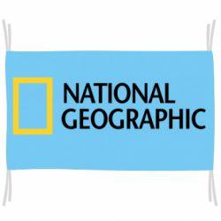 Флаг National Geographic logo