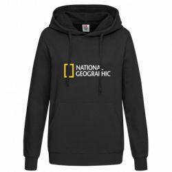 Женская толстовка National Geographic logo